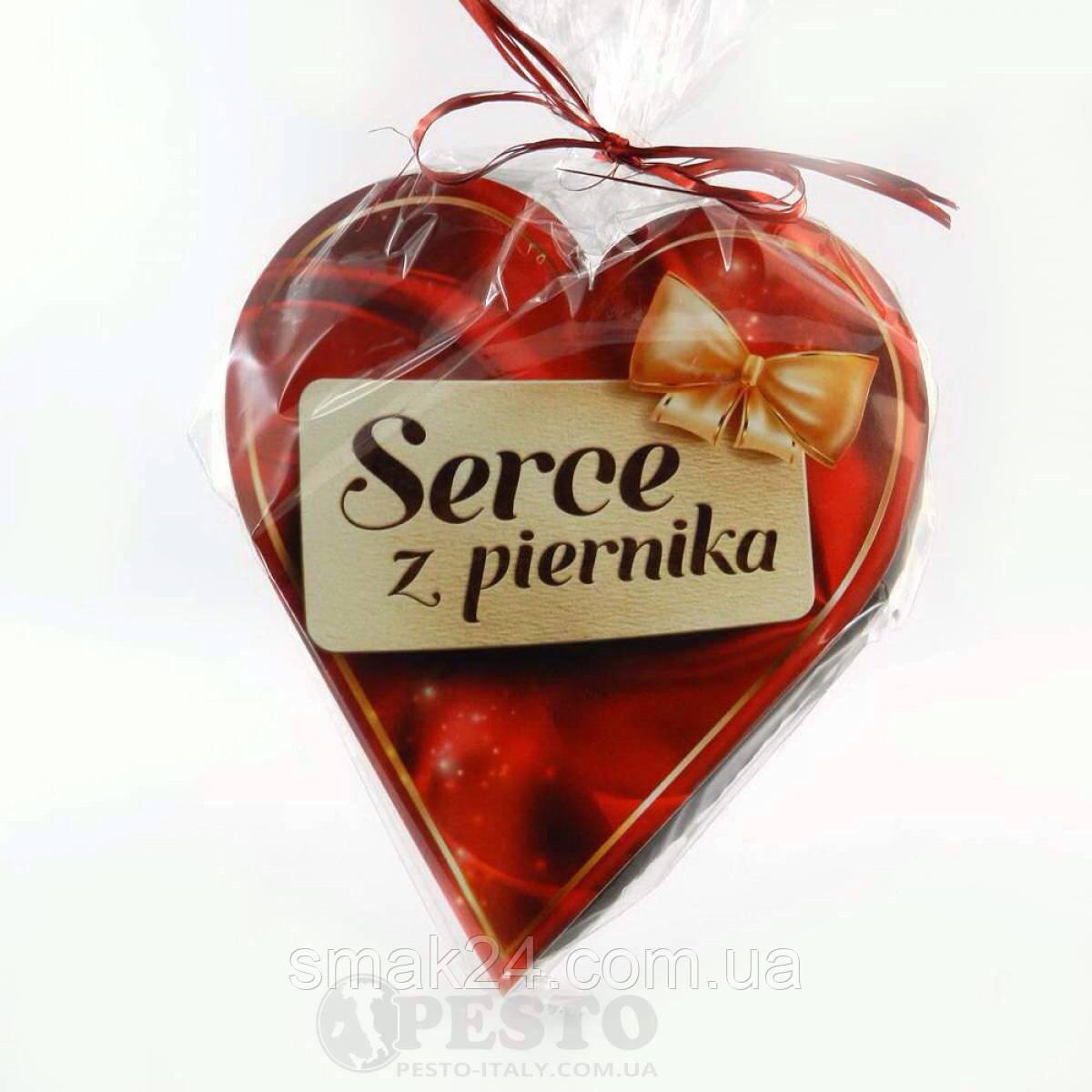 Пряник в шоколаде Сердце Serce z piernika   90 г