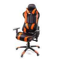 Кресло геймерское ХОРНЕТ PL RL ECO оранжевый
