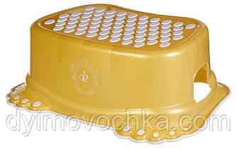 Подножка антискользящая Tega Royal RL-006, золотая