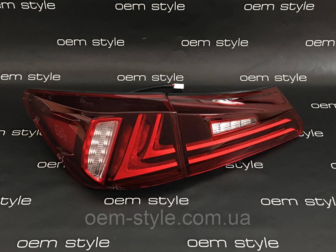 Задние Led фонари Lexus IS 06-12, фото 1