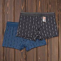 Трусы шорты-транки мужские Shan tao G-015 (6 ед. в упаковке)