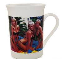 Кружка-чашка хамелеон Стриптиз 6