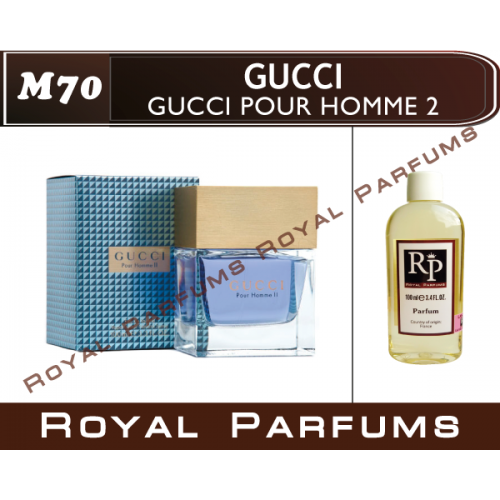 Духи на разлив Royal Parfums M-70 «Pour Homme 2» от Gucci (replica)