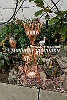 Подставки плетеные на цветы, фото 1