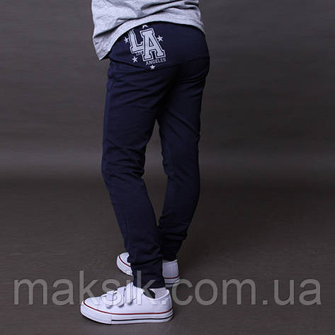 Мега стильные спортивные штаны  чёрные  р.122-128, фото 2