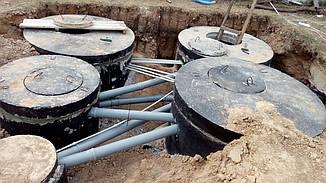 """Очистные сооружения канализации """"ОСК""""  производительностью 20 м3 в сутки"""