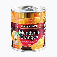 Консервированный мандарин-апельсин в сиропe TRADER JOE'S Mandarin-Orangen, 312 г