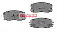 Колодки тормозные Hyundai I10 08'->;Kia Picanto 04'-> передние (KAMOKA). JQ1013566