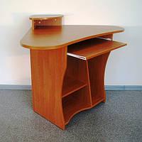 Стол компьютерный угловой из ДСП (ольха) 1000х1000х940мм
