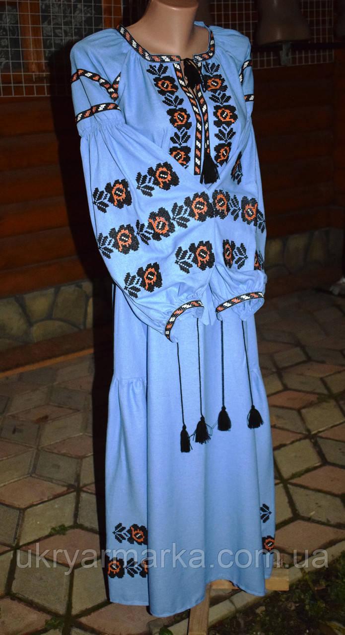 Вишита сукня бохо 5e4004dd92197
