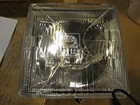 Фара МТЗ передняя квадратная с лампой (Дорожная Карта) (2-й сорт). ФГ -308 (1630)