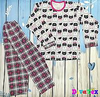 Подростковая легкая пижама Котики