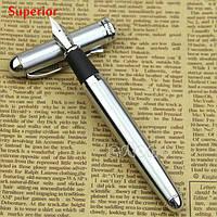 Ручка перьевая подарочная металлическая
