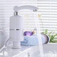 Удобный проточный водонагреватель электрический на кран. Хорошее качество. Удобный дизайн. Код: КДН2944