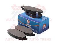 Колодки тормозные передние ZAZ FORZA/AMULET/ELARA/GREATWALL 2.5 (KOREASTAR). A11-6GN3501080