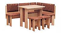 """Кухонный уголок """"Аристократ"""" с раскладным столом Пехотин"""