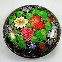 Шкатулка деревянная букет цветов