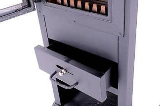 Стальная печь-камин Zar 8kW, фото 3
