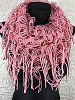 "Вязаный шарф ""Труба"" (1)"