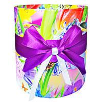 Подарочная коробка для цветов, без крышки (16 х 15,5 см)