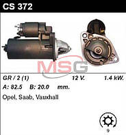 Стартер /1.4кВт z9/ Opel Omega,Kadette,Vectra,Astra, SAAB 9000,900,9-3,9-5, 1.8-2.0-2.3 4X4