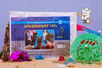 Альбенсепт 1% 100 г порошок антигельминтный Круг