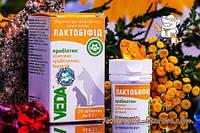 Лактобифид 20 таблеток прибоитик для кошек и собак Россия