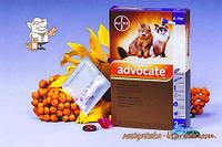 Адвокат №4 до 8 кг комплексные капли противопаразитарные для кошек Bayer