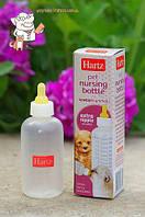 Бутылочка с соской для кормления котят и щенков 55мл Hartz Н98621