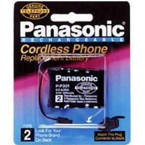 Аккумулятор PANASONIC- Р-301 (300 mAh; T-107)