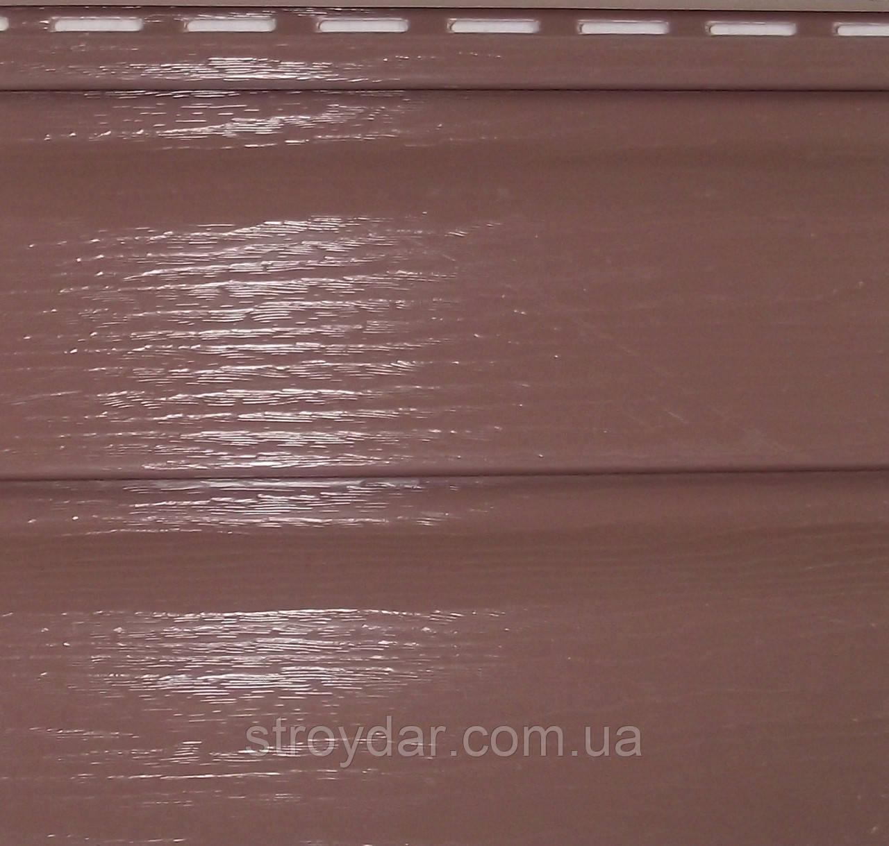 Сайдинг Альта-Профіль Червоно-коричневий Преміум Плюс Канада