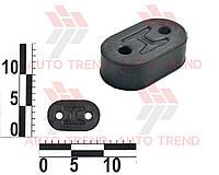 Подушка глушителя DAEWOO/CHEVROLET LANOS/AVEO/AVEO II толщ. задняя (OEM-ZAZ). 96181437