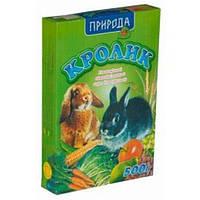 Корм для кролика 500 г Природа