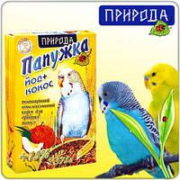 Корм для попугаев волн.Папужка Йод+кокос 575г  ПРИРОДА   /  351122