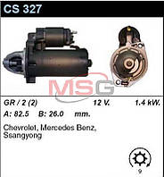 Стартер восст. /1,4кВт z9/ Mercedes W124, 201 2,0-2,2-2,3i