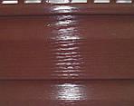 Сайдинг Альта-Профіль Червоно-коричневий Преміум Плюс Канада, фото 2