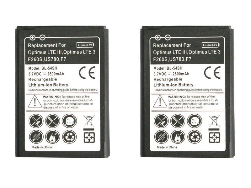 Аккумулятор для телефона LG (Model: BL-54SH) G3s, G3 mini, D724, L90, L90 Dual, D405, D410