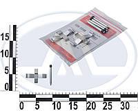 Монтажный комплект дисковых колодок (Quick brake). 1091046