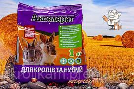 Премикс Акселерат для кролей и нутрий 1 кг Якісна допомога O,L,KAR