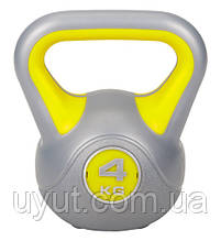 Гиря виниловая Hop-Sport 4 кг
