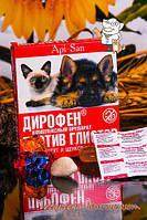 Дирофен №6 таблетки антигельминтные для собак и кошек на 1 кг ApiSan