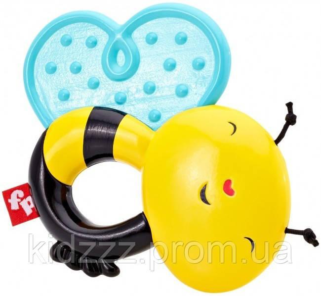 Погремушка  прорезыватель для  малыша Пчелка Fisher-Price (Фишер Прайс)