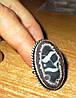 """Крупный перстень с септарией  """"Зодиак"""", размер 17,8  от студии LadyStyle.Biz"""