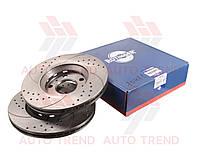 Диск тормозной задний AUDI A8/VW PHAETON 2007-2010 TUNING 5 (ROTINGER). 21392/T5
