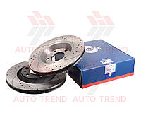 Диск тормозной задний AUDI A4 (8E2/B6) 2003-2004 TUNING 5 (ROTINGER). 20269/T5