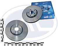 Диск тормозной передний LEXUS GS 300, 430, 450 [334X51] - правый (ROTINGER). 20383