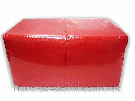 FESKO Standart 400 шт. Красная 1/4 сложения однослойная, фото 2