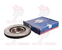 Диск тормозной передний SEAT LEON/AUDI A3/VW GOLF/PASSAT 2010-2012 Высокоуклеродистый состав (ROTINGER). 4518HP