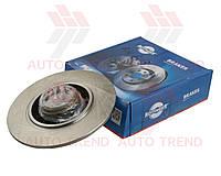 Диск тормозной задний RENAULT GRAND SCENIC III/MEGANE CC 2013- В комплекте подшипник и кольцо ABS (ROTINGER). 3253BS