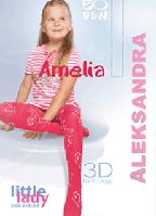 Детские колготки Amelia 3D TM Aleksandra
